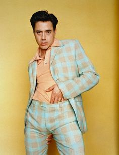 Actually, nevermind, he once wore THIS: | 32 Reasons Robert Downey Jr. Is The Most Perfect Man In The Universe