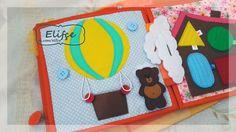 Развивающая книжка, из фетра, развивашка своими руками, развивающая книга своими руками, книга из фетра, quiet bokk, felt, babybook, Elifce
