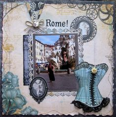 Beautiful Rome! - Bo Bunny - Somewhere In Time Collection