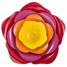 Rose Serve Bowl Brights byZak! Designs