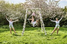 Stunning self standing aerial rig to hire complete with acrobats dressed in theme. Perfect for venues with low ceilings, outside venues and venues where it is not possible to rig. Aerial Acrobatics, Aerial Silks, English Summer, Low Ceilings, Contortionist, All Themes, Walkabout, Garden Theme, Summer Parties