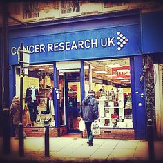 Cancer Research UK, charity shop