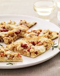White-Bean-and-Pancetta Pizza Recipe from Food & Wine