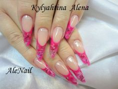 Fingernagel Motive - Pink AleNail