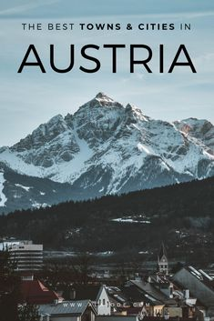 8 Unmissable Towns & Cities To Visit In Austria Us Travel Destinations, Europe Travel Guide, Travel Guides, Places To Travel, European Destination, European Travel, Travel Advice, Travel Checklist, Travel Articles