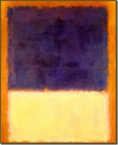 Mark Rothko. watercolor inspiration