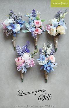 Flowers Boquette Wedding Groom Boutonniere 24 Ideas For 2019 Pink Wedding Colors, Blush Pink Weddings, Wedding Pastel, Pastel Weddings, Blue Weddings, Spring Weddings, Romantic Weddings, Boquette Wedding, Corsage Wedding