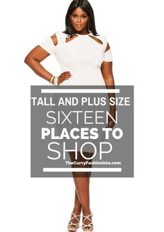 No sooner did I post about where to shop if you are Petite Plus Size, did I hear the outcry and plea of those who are vertically blessed and plus sized! So hastily I ran to the nets to check, check, and double check the resources I have for YOU the Plus size and Tall Curvy Fashionistas!  So I have created a nice little roundup and guide for you who require 32, 34, or 36 inch inseams! Some stores have custom options, like eShakti, so that you can custom tailor the look to your needs! Gotta…