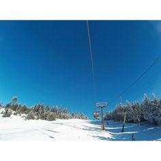 #lyžovačka #2k16 #ramzova #červenávoda #sunny #day #snowboarding #winter #jumping #eat #food #snow #i #love #it 🍵🏔🌧❄🎿🏂