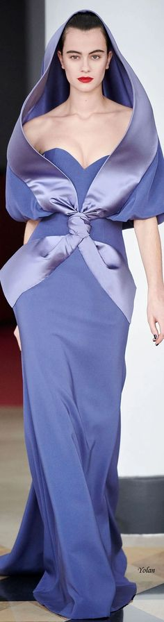 Alexis Mabille, Purple Fashion, High Fashion, Formal Wear, Formal Dresses, Pink Gowns, Glamour, Periwinkle Blue, Queen