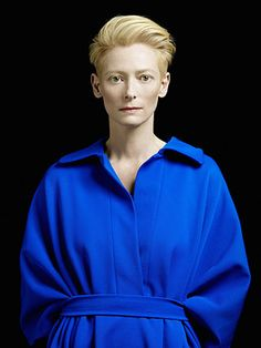 """Tilda Swinton prioritizes being over acting, presence over character. She is interested in the whole rather than the part and is happiest at the core of a film, embodying its deepest themes with the luminous, naked face for which she is known."" —Director and Screenwriter Sally Potter writes about actress Tilda Swinton, one of TIME's 100 Most Influential People. http://ti.me/Jl8qeX"