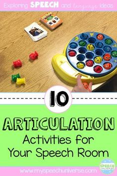 Here are 10 fun ideas to target articulation with your speech and language students. These are AWESOME ideas! Speech Pathology Activities, Articulation Therapy, Articulation Activities, Speech Language Pathology, Speech Therapy Activities, Speech And Language, Language Activities, Youth Activities, Play Therapy Techniques