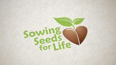 Logo design for Sowing Seeds for Life, a non-profit organization with locations in California and Maine