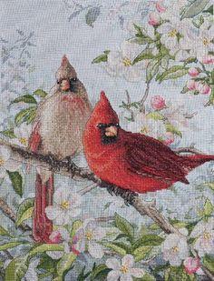 Cardinal Cross Stitch