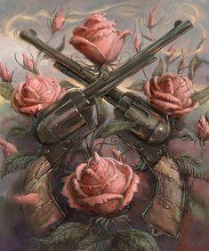 The dark tower, by Stephen King Dark Tower Art, The Dark Tower Series, Dark Art, Tatuagem Guns N Roses, Art Harley Davidson, Harley Davidson Wallpaper, Dark Tower Tattoo, La Tour Sombre, Art Du Monde
