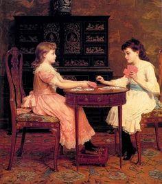 Goodall, Frederick (b,1822)- Old Maid, 1886 -2a