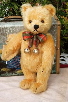 Antique / Vintage German Steiff Teddy Bear with button Circa 1950's Can you gi #Steiff