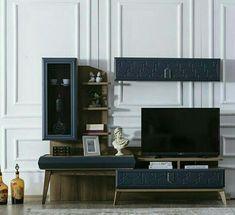 House Furniture Design, Furniture Decor, House Design, Art Deco Bedroom, Bedroom Decor, Modern Dressing Table Designs, Lcd Wall Design, Living Room Designs, Living Room Decor