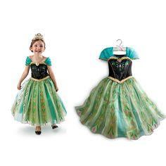 2014 Frozen Princess Dresses Elsa Anna Cosplay by Harvestdo, $31.90