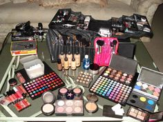 All the makeup i want.