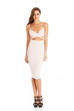 25adbc2edd Nude Heidi Bodycon Dress : Buy on Sale Now Ivory Dresses, Dress P, Bustier