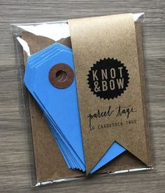 POPSUGAR Must Have Box Review - December 2014 Tags Knot & Bow Gift Package Tags – Value $4