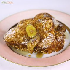 Michael Symon's Cornflake Crusted French Toast! #TheChew #FrenchToast #Breakfast