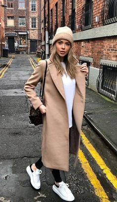 Trendy Fall Outfits, Casual Winter Outfits, Winter Fashion Outfits, Classy Outfits, Look Fashion, Stylish Outfits, Autumn Fashion, Cold Spring Outfit, Paris Winter Fashion