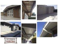 This Cliff May Rancho home in Long Beach, CA was in dyer need of a Joe's Premium Painting restoration.