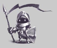 Little Knight by Firrka.deviantart.com on @deviantART