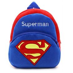 Men's Bags Luggage & Bags Superman Superhero Backpack Children School Bags Toddler Boys Girls Primary Kindergarten Backpack Kids Small Bags Fans Gift