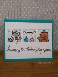 Happy Birthday Card   by Arlene Kruse