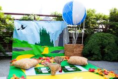 Wizard of Oz-inspired picnic at Diffa's Picnic by Design. Photo: Becky Yee Photography