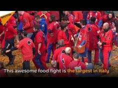 Italy Holds Annual 'Battle of the Oranges' -