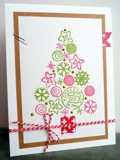 X-mas cards 2012 Marianne Design, Winter Christmas, Christmas Tree, Winter Theme, Paper Cards, Stamping Up, Holidays And Events, Cardmaking, Christmas Cards