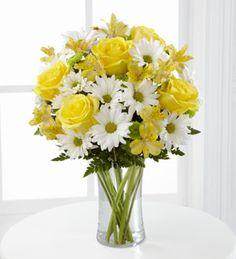 The FTD® Sunny Sentiments™ Bouquet http://www.yourhouseofflowers.com/product/the-ftd-sunny-sentiments-bouquet/display