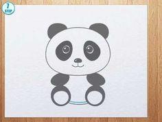 How to draw a panda bear - YouTube, 1:40