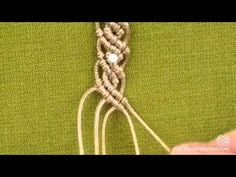 DIY Wavy Macrame Bracelets.mp4 - YouTube