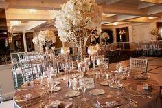 Déco de table intage chic mariage