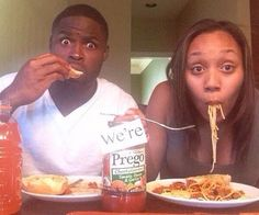 Couple announces they are expecting in a creative way.