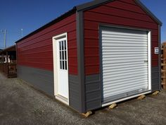 Portable garage. Perfect space!