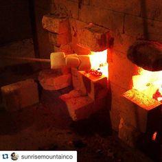 Repost @sunrisemountainco with @repostapp.  Fire is so versatile by woodfiredpotterykilns