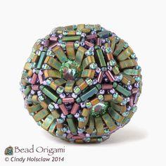 Bead Origami: New Pattern and Kits: Half Tila Technocluster Set