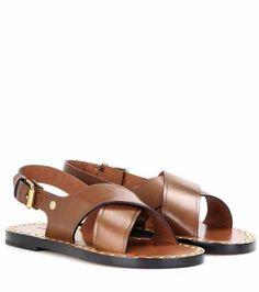 Jane leather sandals   Isabel Marant
