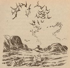 from 'moominpappa and the sea' by tove jansson