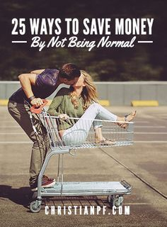 """25 ways that you can save money by not being normal - So now we have 25 unique ways to save money if you choose NOT to be """"normal"""" - http://seedtime.com/16-ways-to-save-money-by-not-being-normal/"""
