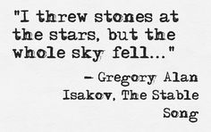 Gregory Alan Isakov, The Stable Song