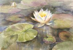 Waterlily. Painting. Watercolor Painting. Flower Painting. Original Painting…