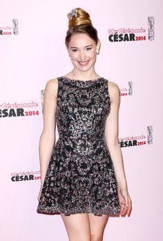 Le tapis rouge des César 2014 Déborah François.