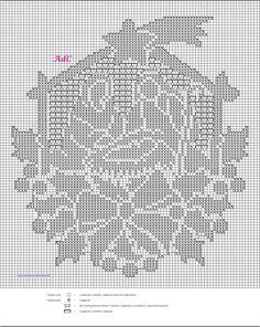 Discover thousands of images about uncinetto per natale- stella cometa e presepe a crochet Xmas Cross Stitch, Cross Stitch Charts, Cross Stitch Designs, Cross Stitching, Cross Stitch Patterns, Crochet Christmas Ornaments, Christmas Crochet Patterns, Crochet Snowflakes, Thread Crochet